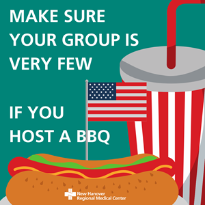 MAKE SURE YOUR GROUP IS VERY FEW IF YOU HOS A BBQ