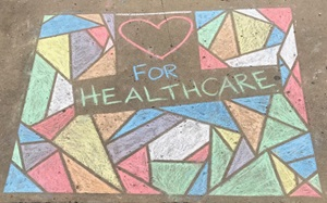 Chalk Heart for Healthcare