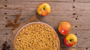 Chai Apple Crumble