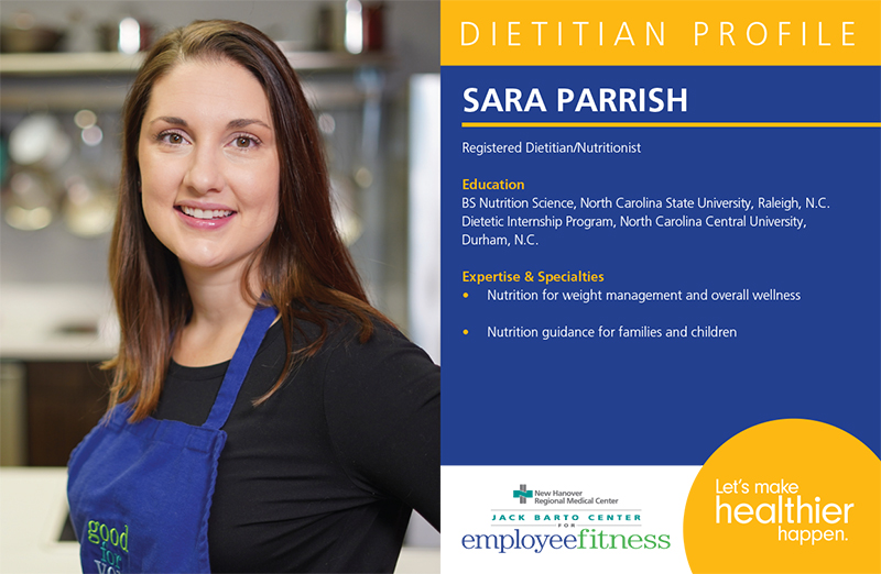 Nutritional Services   For Employees   New Hanover Regional