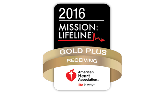 2016 Mission Lifeline Gold Plus Receiving