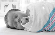 Dimples Newborn Photography