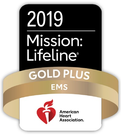 Mission Lifeline EMS GOLD PLUS Award