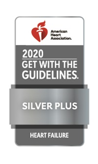 AHA GWTG Heart Failure Silver Plus Award 2020