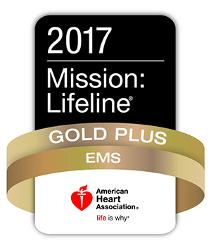 Mission Lifeline Gold EMS Logo 2017
