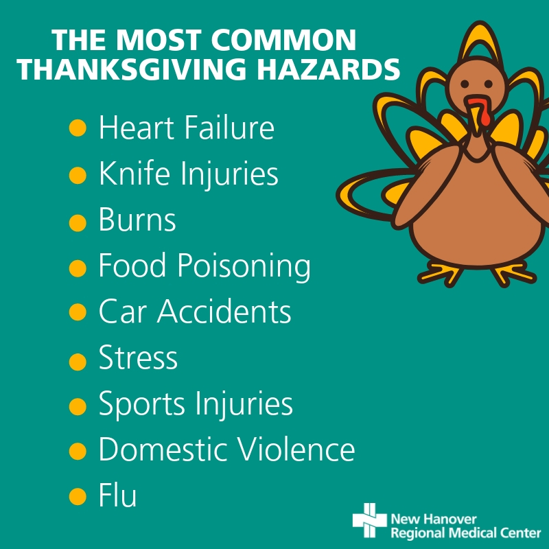 HOW TO AVOID COMMON THANKSGIVING HAZARDS