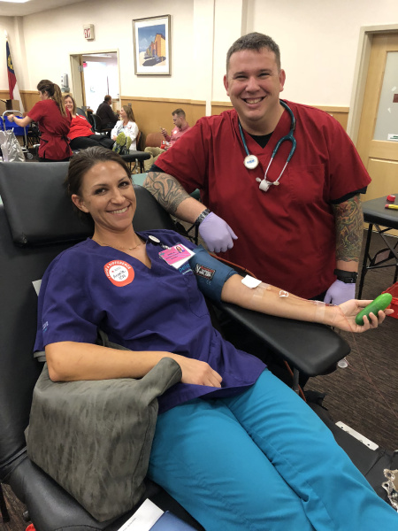 Blood Donor at James Walker