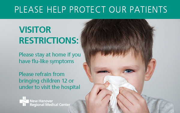 Flu precautions web graphic