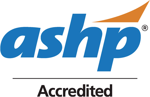 ASHP Logo Accredited